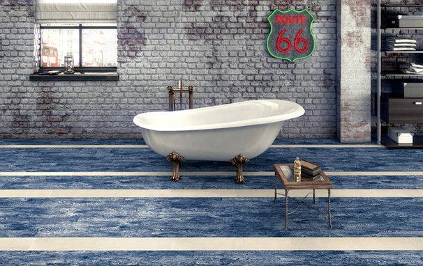 Contemporary Bathroom COVERINGS 2013
