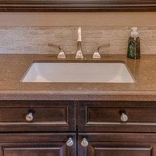 Traditional Bathroom by Randal G. Winter Construction Inc.