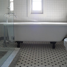Traditional Bathroom by Collinas Design & Construction