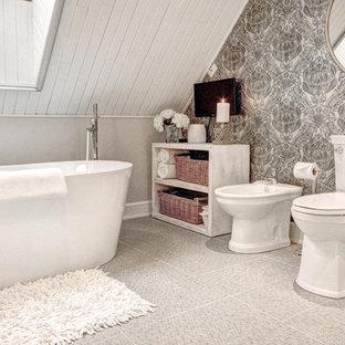 Salle de bain romantique Montréal : Photos et idées déco de salles ...
