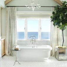 Beach Style Bathroom by Bliss Home & Design
