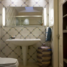 Transitional Bathroom by Adcock-Smith Design