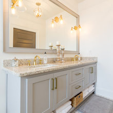 Mirror/Lighting Placement-Hall Bath