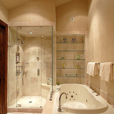 Traditional Bathroom by Tanya Simpson Miller  Design