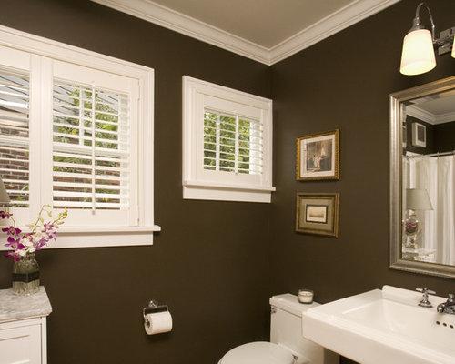Dark Brown Window Frame Home Design Ideas Pictures