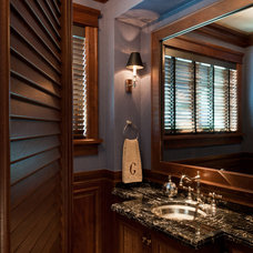 Traditional Bathroom by AlliKristé Custom Cabinetry and Kitchen Design