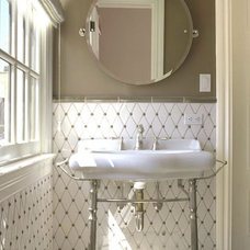 Traditional Bathroom by Gallery of Tile and Stone