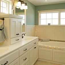 Craftsman Bathroom by Copper Creek, LLC