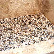 Craftsman Bathroom by Falcon Design Build