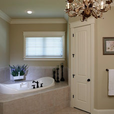 Craftsman Bathroom by Grainda Builders, Inc.