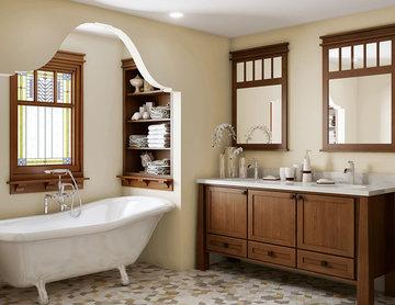Craftsman Bathroom Remodel