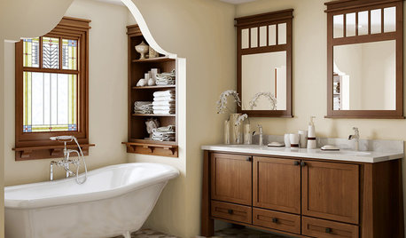 Your Guide to a Craftsman-Style Bathroom