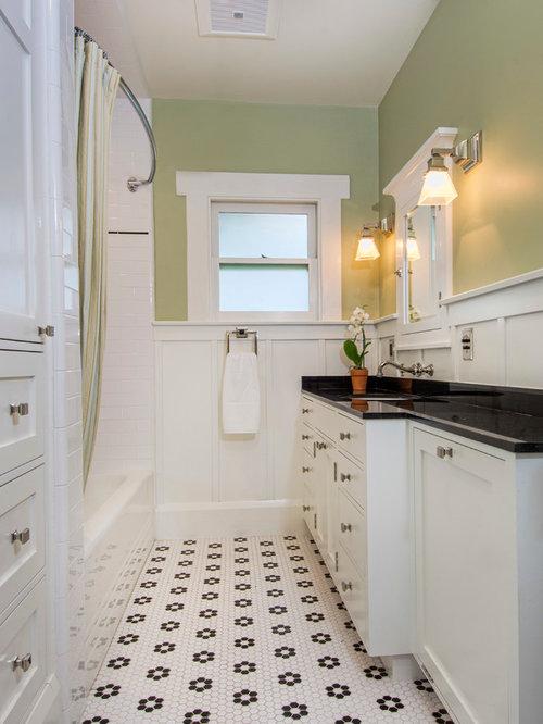 Craftsman Bathroom Remodel South Pasadena Ca