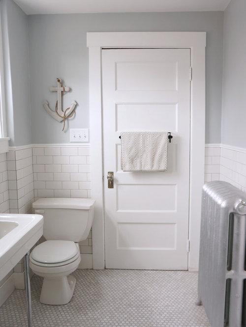 Best craftsman boston bathroom design ideas remodel pictures houzz - Craftsman bathroom design ...