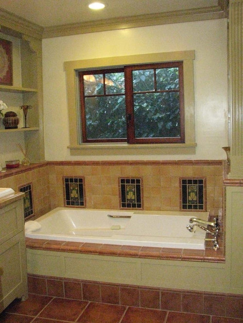 Craftsman style decorating houzz for Craftsman bathroom design