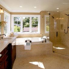 Craftsman Bathroom by Bothwell Builders
