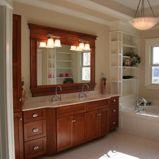 Traditional Bathroom by Creekwood Homes