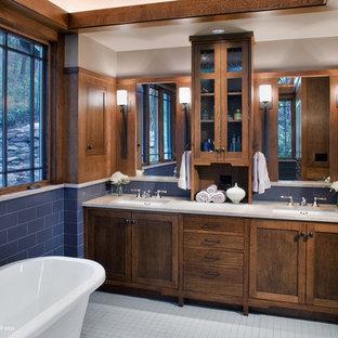 Ispirazione per una stanza da bagno american style