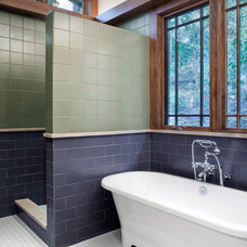 Craftsman Bathroom by CG&S Design-Build