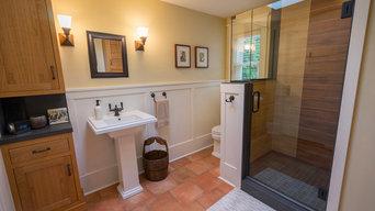 Craftsman Farmhouse Bathroom Remodel