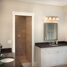 Craftsman Bathroom by Andrew Melaragno