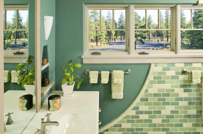 Craftsman Bathroom by Deep River Partners