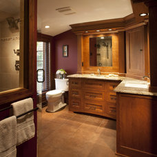 Craftsman Bathroom by Johnson Design Inc.