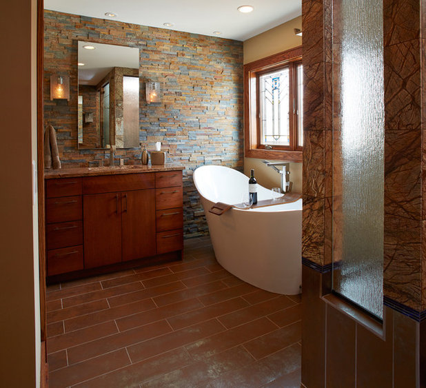 Swell A New Bathroom Gets Arts And Crafts Style And A Soaking Tub Download Free Architecture Designs Scobabritishbridgeorg