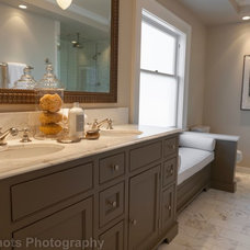 Craftsman Bathroom by Rosichelli Design