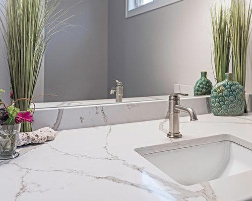 Foton och badrumsinspiration för amerikanska en-suite badrum, med ...