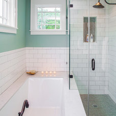 Transitional Bathroom by CG&S Design-Build