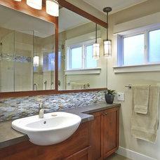 Craftsman Bathroom by Studio D, LLC