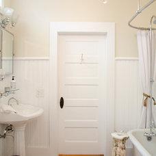 Craftsman Bathroom by Jancy Ervin Interiors