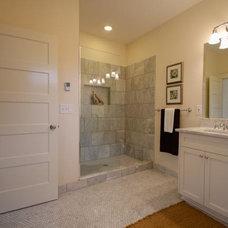 Craftsman Bathroom by Columbia Redevelopment