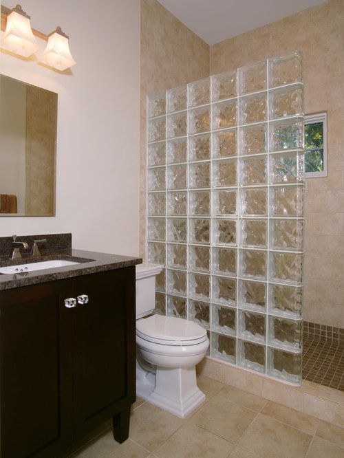 Bathroom Partitions San Francisco glass block partition | houzz