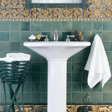 Craftsman Bathroom by Pratt and Larson Ceramics