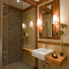 craftsman bathroom by Gardner Mohr Architects LLC
