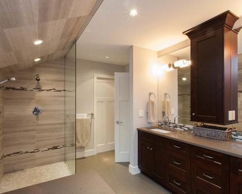 Craftsman vancouver bathroom design ideas remodels photos - Craftsman bathroom design ...