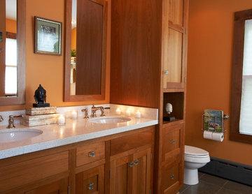 Craftsmen Style Kitchen & Master Bathroom