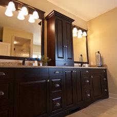 Craftsman Bathroom by Troxel Custom Homes