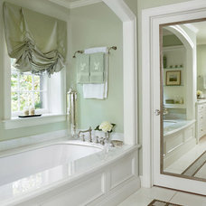 Traditional Bathroom by Colleen Farrell Design, llc