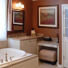 Traditional Bathroom by Cranbury Design Center LLC