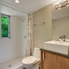 Modern Bathroom by Spore Design