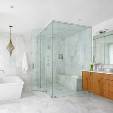 Contemporary Bathroom by Foursquare Builders