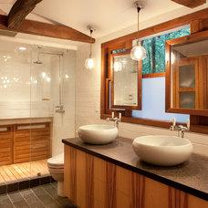 Rustic Bathroom by Amy A. Alper