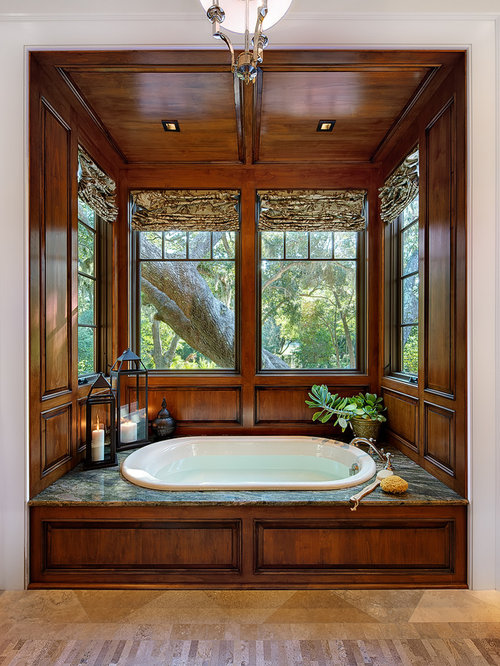 Houzz tub alcove design ideas remodel pictures for Alcove bathtub definition