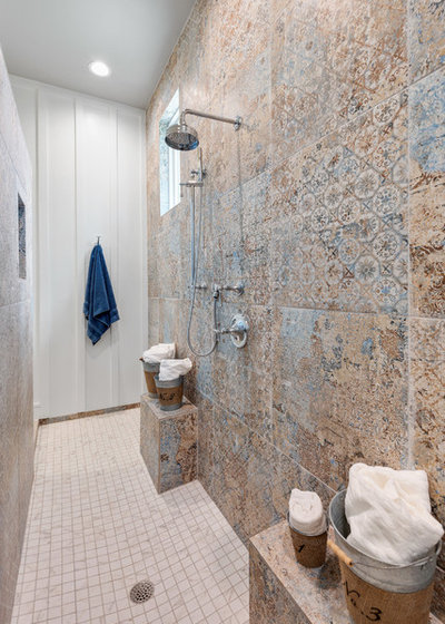 Farmhouse Bathroom by Elliot Johnson, AIA - Images Of...