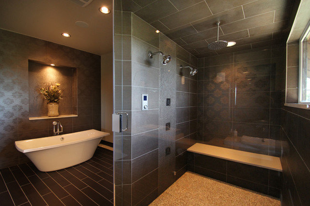 Contemporary Bathroom by Oglesby Design