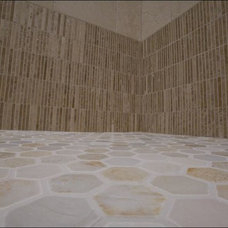 Traditional Bathroom by Mission Stone Tile