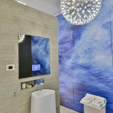 Contemporary Bathroom by Crescendo Designs, Ltd.